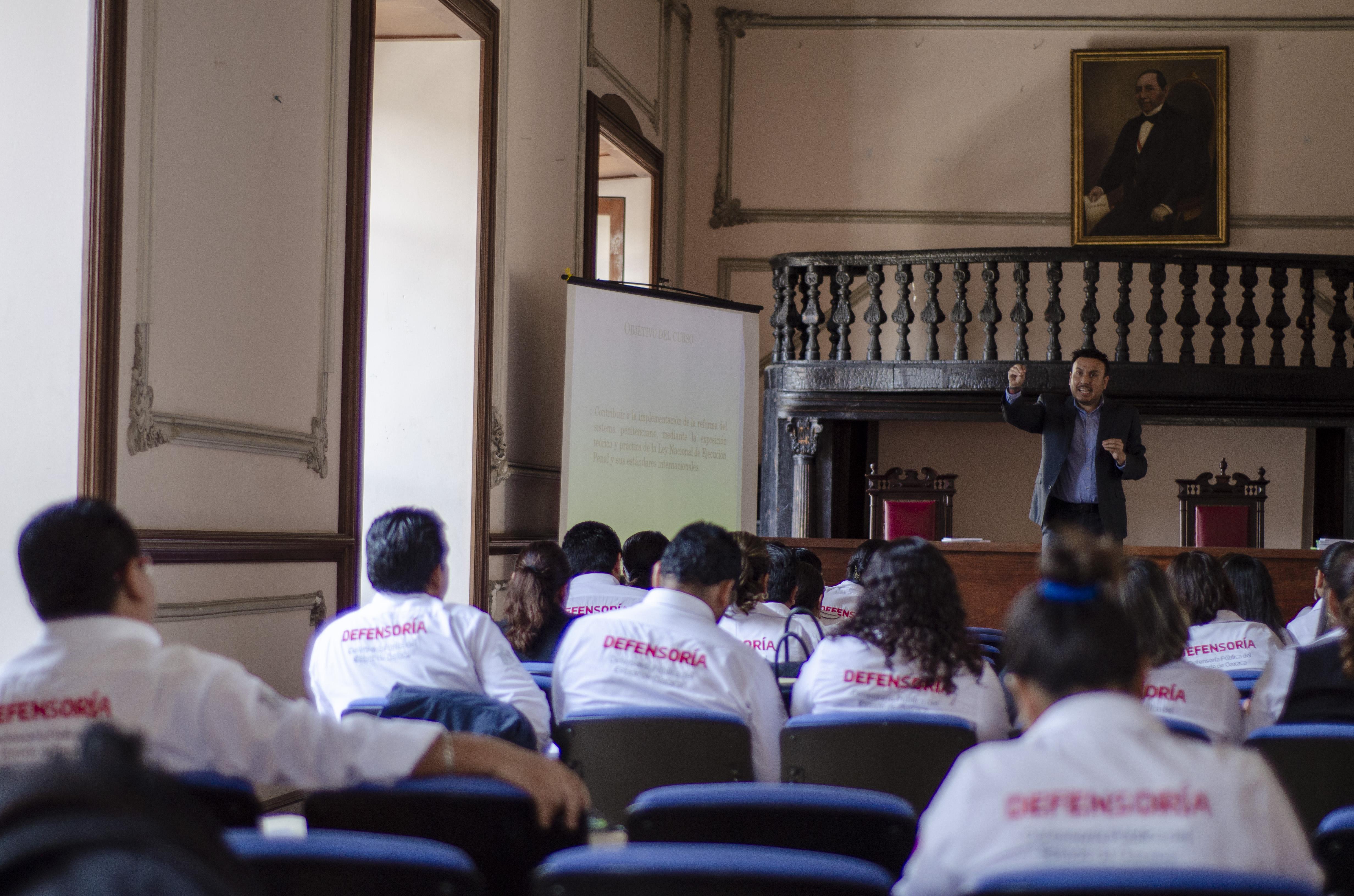 Curso en OAXACA: Los beneficios de libertad en la Ley Nacional de Ejecución Penal